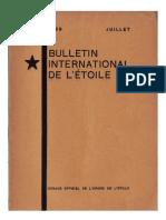 Bulletin International de L'Étoile N°18 Juillet 1929 par J. Krishnamurti