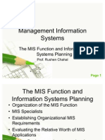 MIS - Systems Planning - Complete