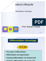 Product Life Cycle- Differentiation Advantage
