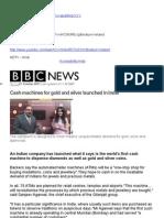 Gold ATM Press Coverage