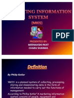 Marketing Information System Ppt..