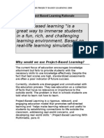 PBL Rationale