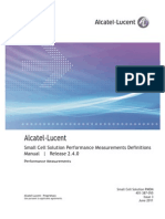 Alcatel-Lucent Small Cell Solution Performance Measurements Definitions Manual240