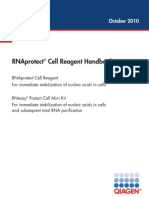 RNAprotect Cell Reagent Handbook