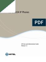 Mitel 5312 - 5324 (guide avancé) ENG