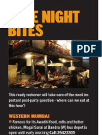 Late Night Bites