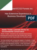 Martin Tindall ECO2 Forests Inc