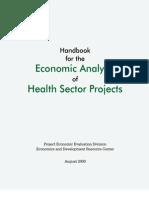 Economic Analysis Health Projects