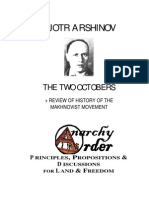 Arshinov, Pjotr - The Two Octobers