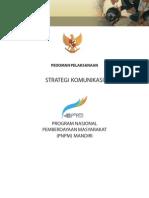 Pedoman Strategi Komunikasi