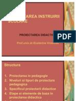 8. PROIECTAREA INSTRUIRII SCOLARE