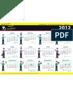 Calendario Para Dummies 2012