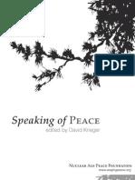 Speaking of PEACE
