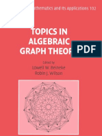 Lowell W. Beineke & Robin J. Wilson & Peter J. Cameron - Topics in Algebraic Graph Theory