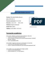 Curriculum Elisa Medina Navarro