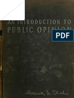 An Introduction to Public Opinion