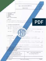 NBR 7181 - ANÁLISE GRANULOMÉTRICA
