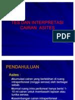 PEMERIKSAAN CAIRAN ASCITES