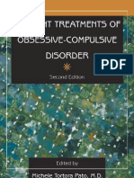 Current Treatments of Obsessive-Compulsive Disorder, 2e [2001]