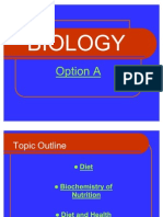 Biology Option A