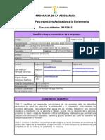 FICHA programa psicosociales 2011-2012