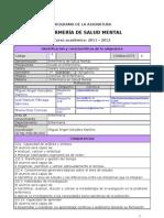 Ficha Enfermería en Salud Mental -Grado- 2011-2012