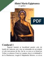 Acatistul Sfintei Maria Egipteanca