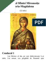 Acatistul Sfintei Mironosiţe Maria-Magdalena