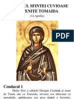 Acatistul Sfintei Mucenite Tomaida