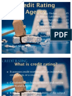 Credit Rating Agency Final