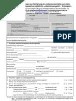 Hauptantrag-Arbeitslosengeld-II