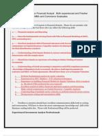 Financial Analyst Recruitment Drive-2