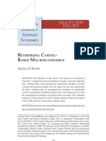 Rethinking Capital Based Macroeconomics - Adrian Ravier
