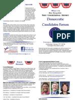 Farmington NH Democrats Candidates Forum Program February 15th 2012