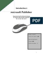 Tutoriel Publisher (1)