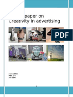 Creativity in Advertising Term Paper