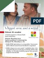 Házasság hete 2012 rendezvény
