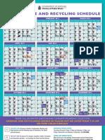 2012 Waste Collection Calendar