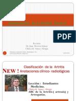 Clasificaciòn  artritis II  Parte