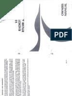 Navico RT6500 User Manual