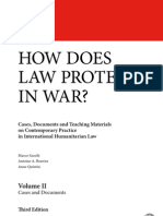 How does law protect in war? Volume II