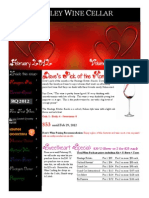 Cellar Notes - February 2012 (Print)