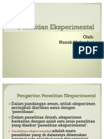 Penelitian Eksperimental - 4