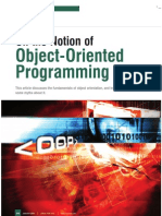 On the Notion of Object-Oriented Programming