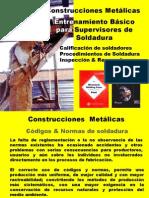 Entrenamiento Supervisores de Soldadura