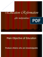Education Reformation