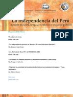 IISeminario - La Independencia del Perú. Actores sociales, lenguaje político y espacio público.