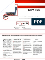 Ohmímetro DRM 10A PT Amperis