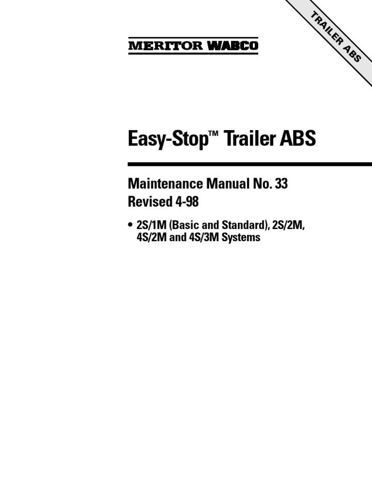 Abs wabco manutec2 anti lock braking system vacuum cleaner sciox Choice Image