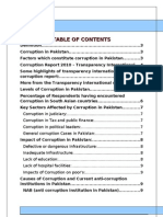 Project on Corruption in Pakistan